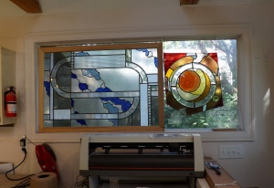 Should have had more: patio slider unit turned into a large insulated window.
